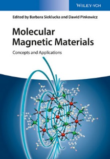 The cover of Molecualr Magnetic Materials book