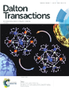 "Okładka publikacji ""Modulation of FeII spin crossover effect in the pentadecanuclear {Fe9[M(CN)8]6} (M = Re, W) clusters by facial coordination of tridentate polyamine ligand"", Dalton Trans. 2017, 46, 8027-8036"