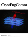 "Okładka publikacji ""Magnetic anisotropy of CoII-WV ferromagnet: single crystal and ab initio study"", CrystEngComm, 2013, 15, 2378-2385"