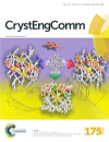 "Okładka publikacji ""The solvent effect on the structural and magnetic features of bidentate ligand-capped {CoII9[WV(CN)8]6} Single-Molecule Magnets"", CrystEngComm, 2016, 18, 1495-1504"